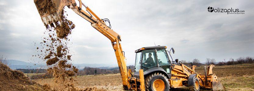 Seguro de RC de Excavaciones y Movimientos de Tierra