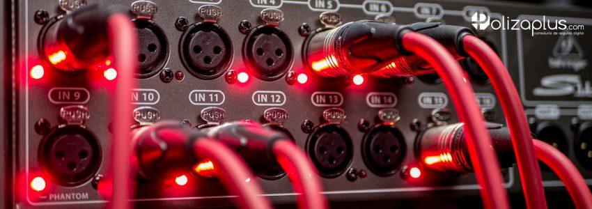 Seguro de Responsabilidad Civil para Técnico de Iluminación y Sonido